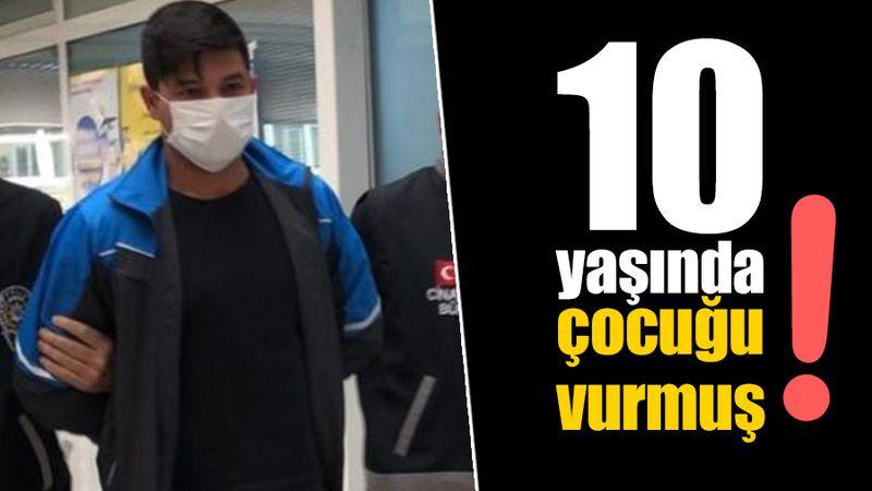 İzmit'te sevgilisinin 10 yaşındaki yeğenini vurdu