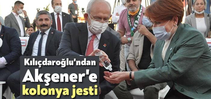 Kılıçdaroğlu'ndan Akşener'e kolonya jesti