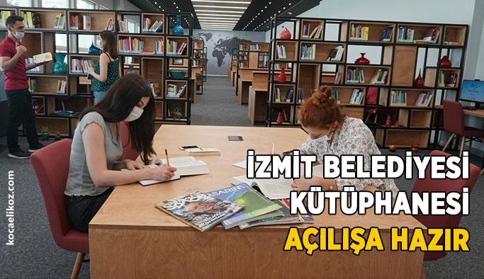 İzmit Belediyesi Kütüphanesi açılışa hazır