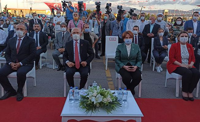 Kılıçdaroğlu ve Akşener İzmit'te