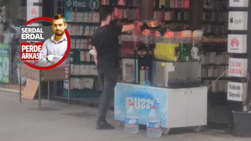 Telefoncu limonata satıyor, hac malzemecisi de dondurma!