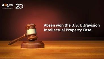 США: Absen выигрывает у Ultravision дело о нарушении прав интеллектуальной собственности