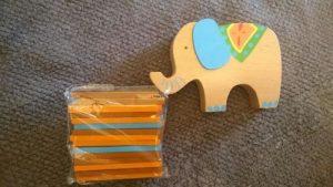 Jouet éducatif l'éléphant et l'équilibre photo review