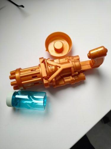 Pistolet à bulles de savon - LudiGun photo review