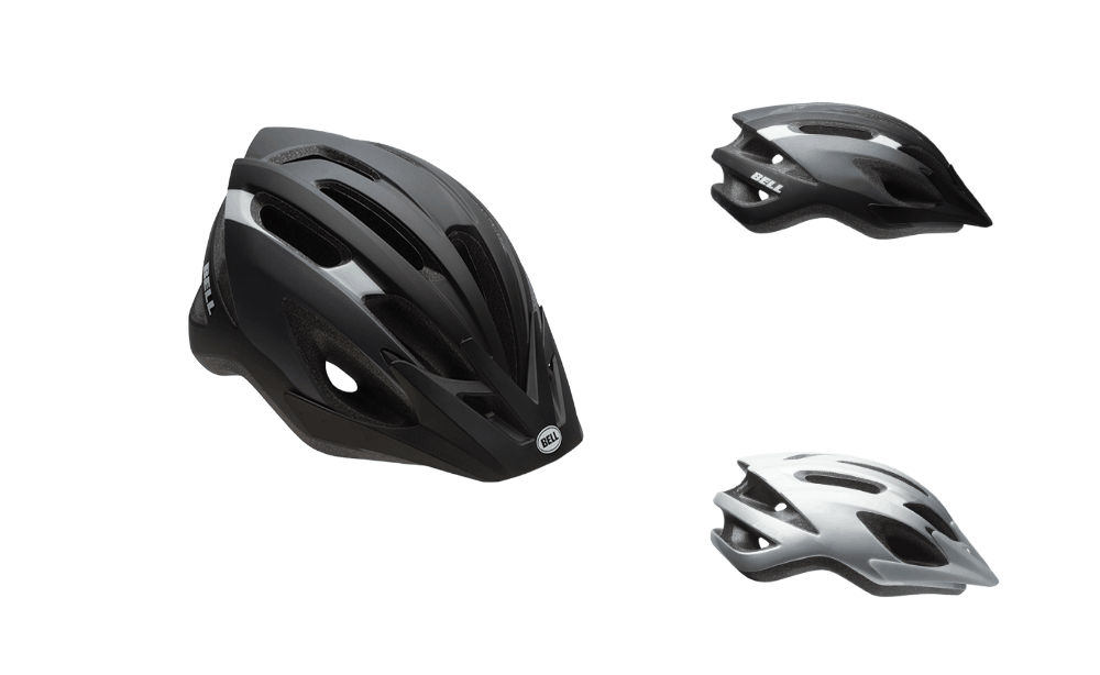 bell crest bicycle helmets