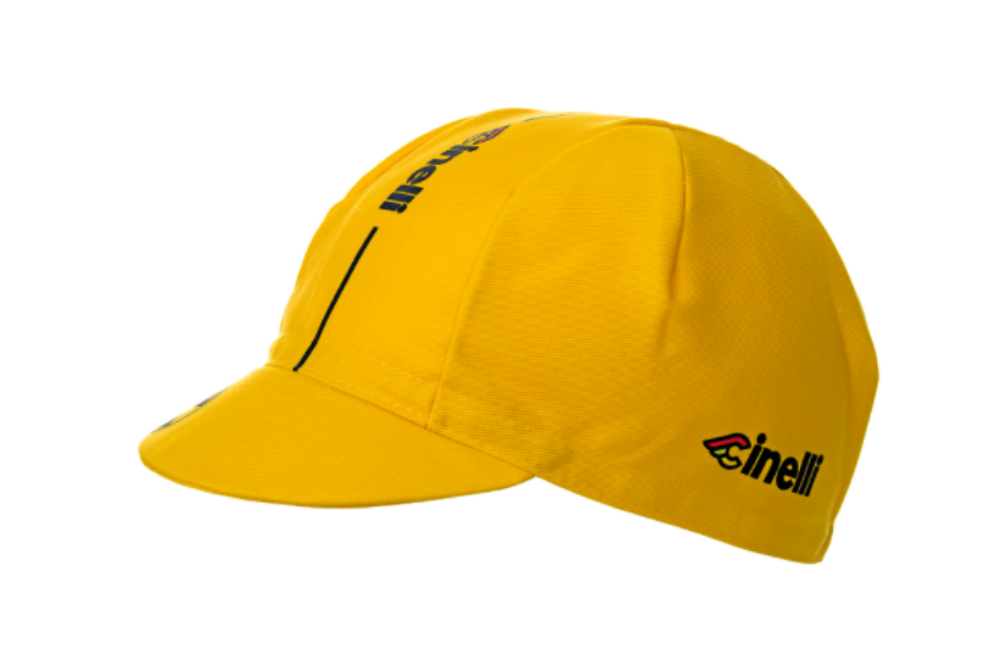 CINELLI CYCLING CAP YELLOW
