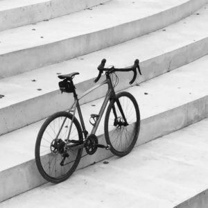 Hybrid bike for city cycling