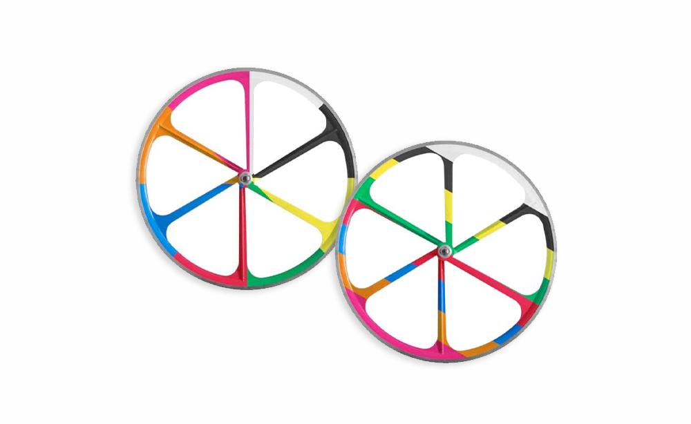 6-Spoke Wheels, Single Speed Mag Wheels, Magnesium Alloy Wheel