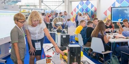 На Mos.ru в режиме онлайн показали открытие Московского международного форума «Город образования»