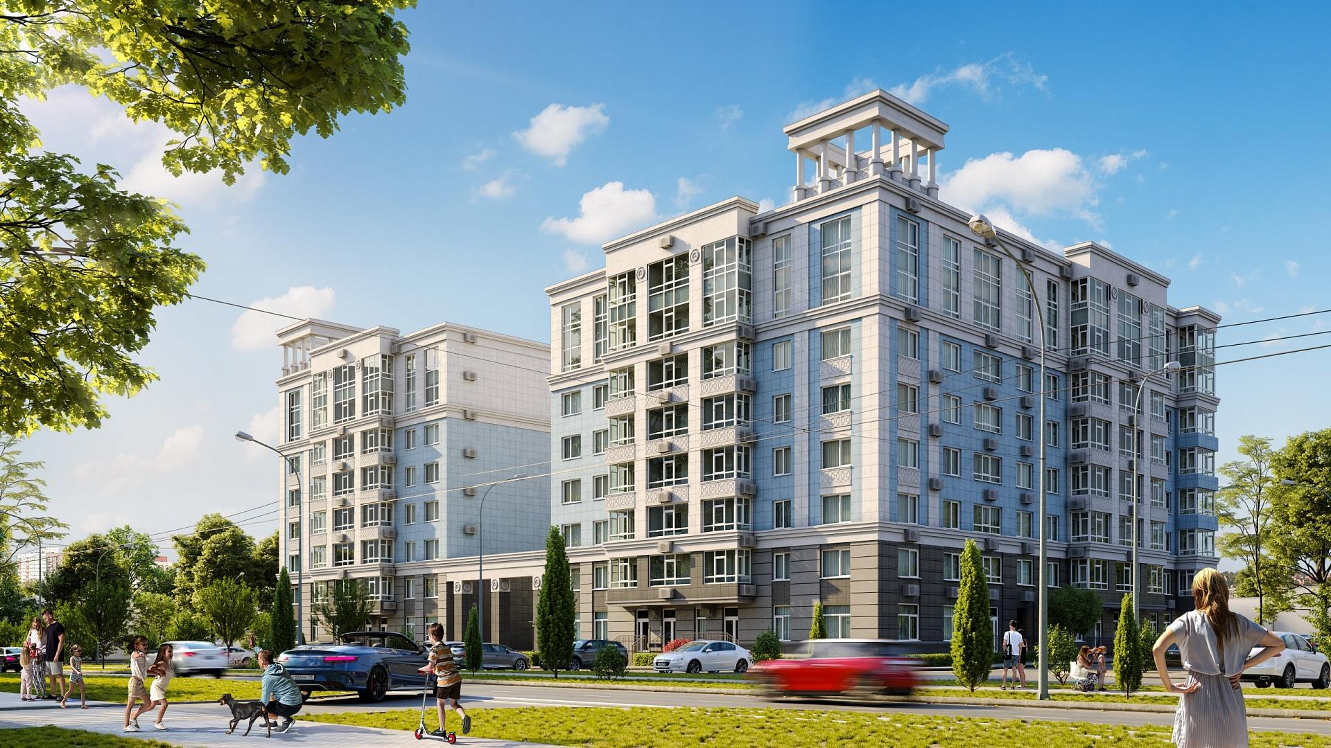 ГК ИнтерСтрой вывела в продажу новые квартиры в ЖК «ЦентрПарк» в Евпатории