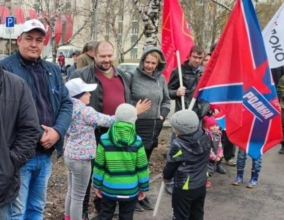 Представители партии «Родина» в Уфе посадили деревья память о героях Великой Отечественной войны