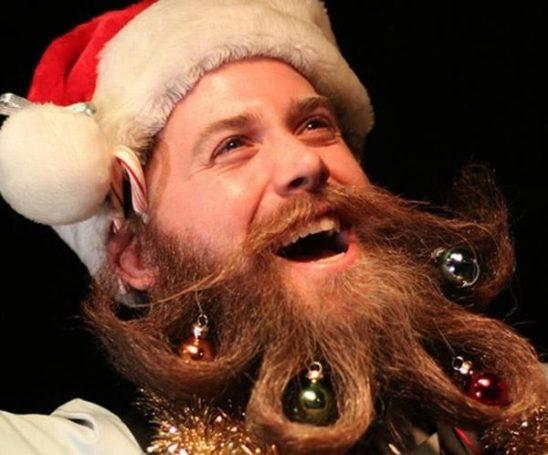 Вместо ёлки борода, борода из ваты, ты подарки нам принёс