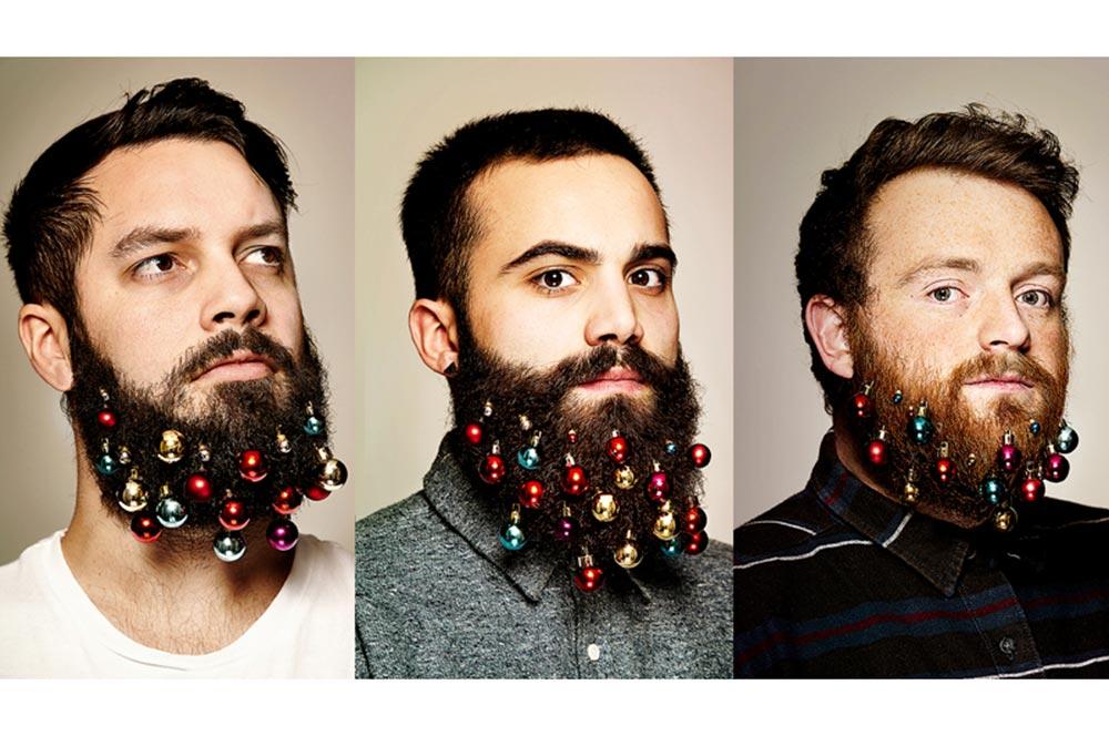Вместо ёлки борода, борода из ваты