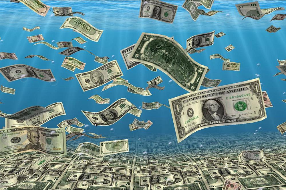 обвал доллара на мировых  биржах