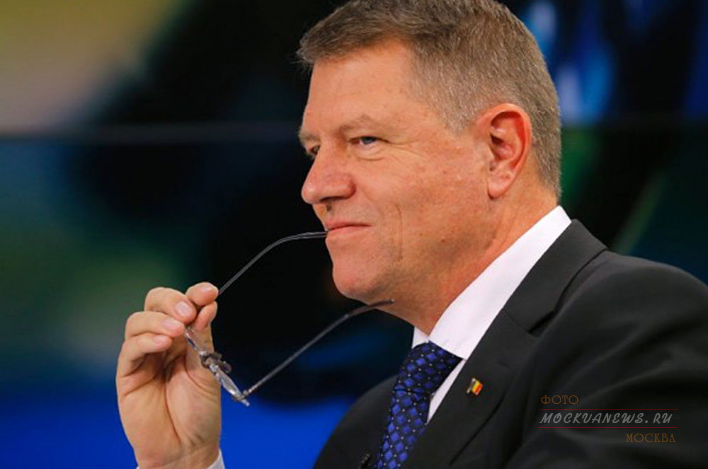 Klaus Johannes президент  Румынии
