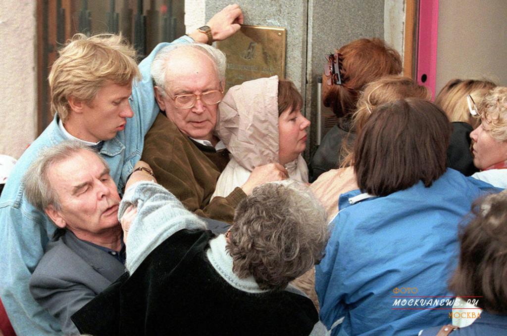 10 исторических фото кризиса конца 90-х годов