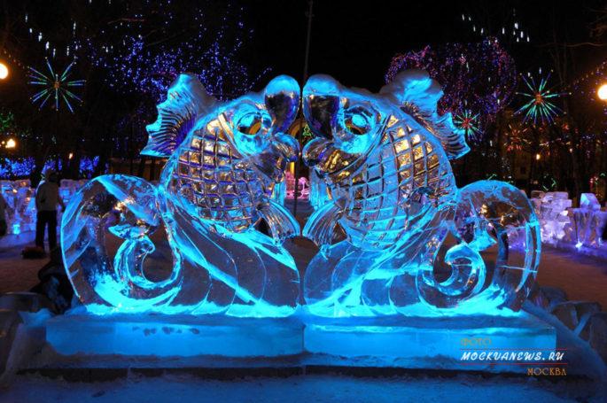 Сад Эрмитаж – приглашает на ледовую выставку, 10 невероятных чудес