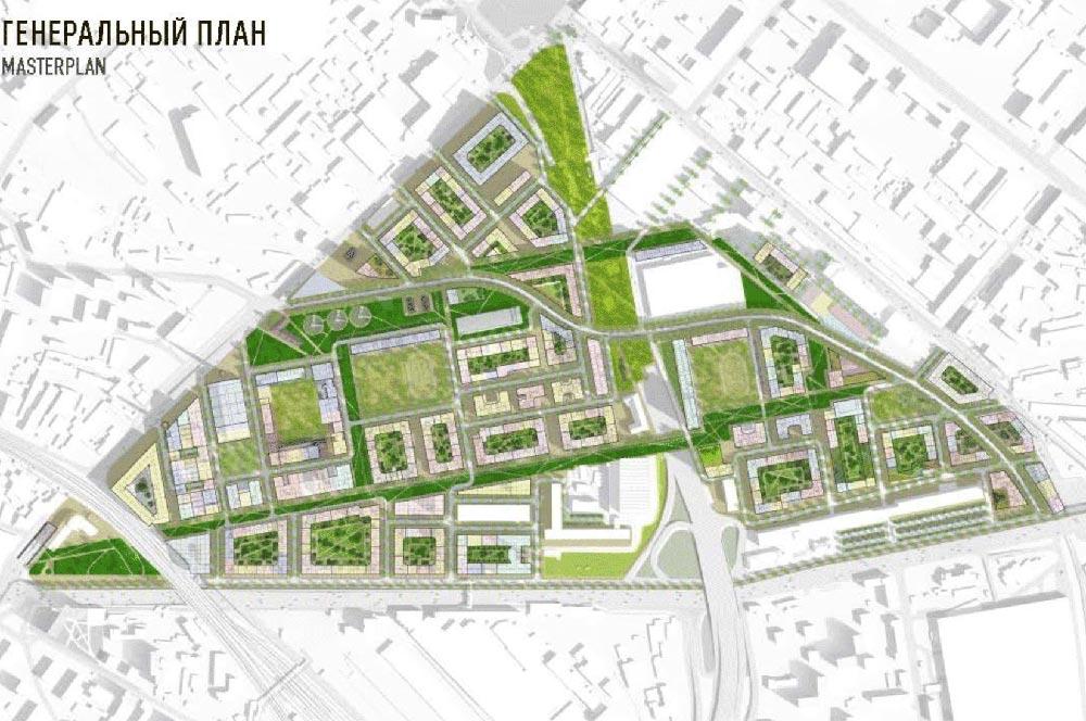 Разрушить, чтобы построить более 1,2 млн квадратных метров жилья «Серпа и Молота»