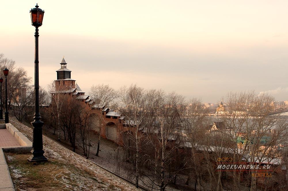 Нижегородский Кремль — главная достопримечательность города.