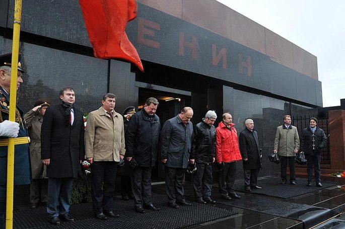 День памяти. Возложение цветов к Мавзолею В.И. Ленина