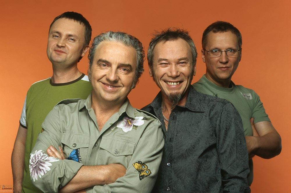 Группа «Чайф» в этом году отмечает свой 30-ти летний юбилей