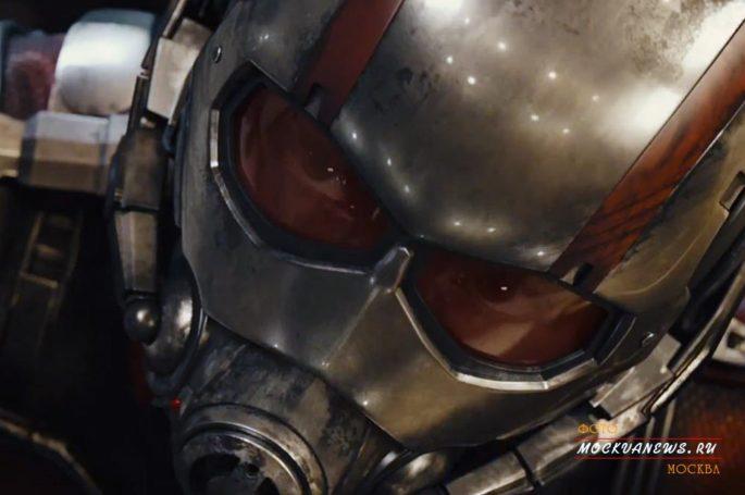 Человек-муравей, заменит Железного-человека (трейлер)