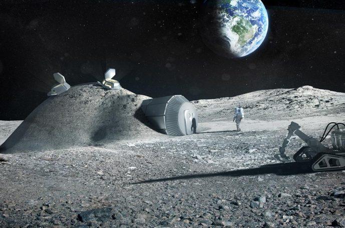 Российская компания «Лин Индастриал» вызвалась создать базу на Луне