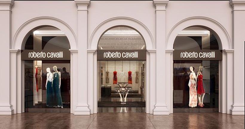 В торговом центре «Крокус Сити Молл» открылся бутик Роберто Ковалли