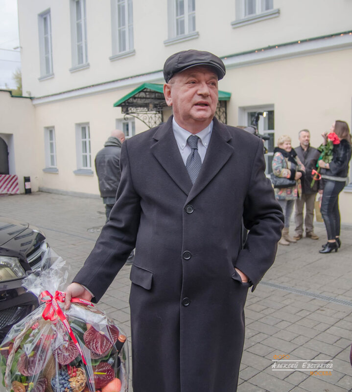 Владимир Вишневский устроил праздник