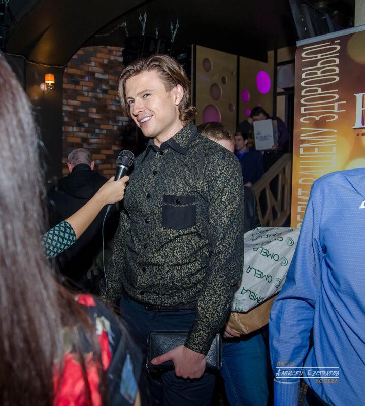 Прохор Шаляпин. Презентация глянцевого журнала и пятилетний юбилей портала «Москва News»