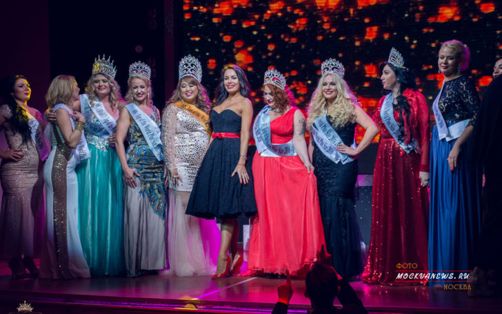 Ms Top of the World Plus Size –  2016