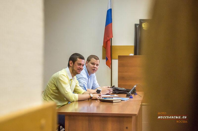 адвокат Елисей Пятин в дорогомиловском суде