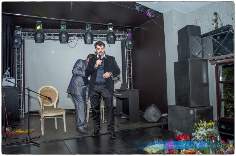 Владимир Вишневский без дублёра открыл сезон клуба Деловые люди