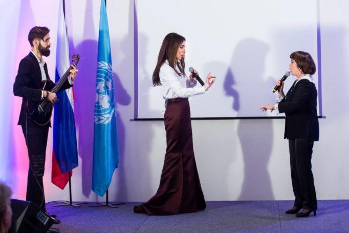 Российская певица Зара стала «Артистом мира»