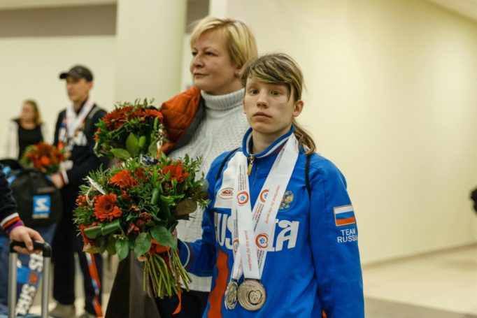 Российские атлеты завоевали 101 олимпийскую медаль на олимпийских играх в Австрии