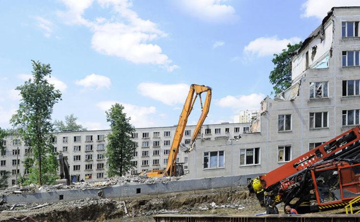 Снос пятиэтажек в Москве одобрен нижней палатой Парламента в первом чтении