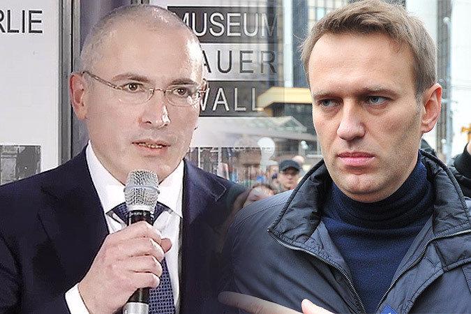 Ходорковский отправил 60 тысяч долларов на выборы для Навального
