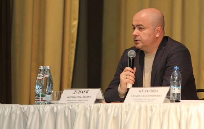 Глава г.о. Истра Андрей Дунаев поведал глебовчанам о перспективах развития территории