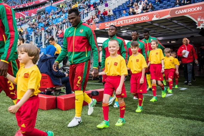 Кубок Конфедераций-2017: «Макдоналдс» исполнил мечту российских детишек