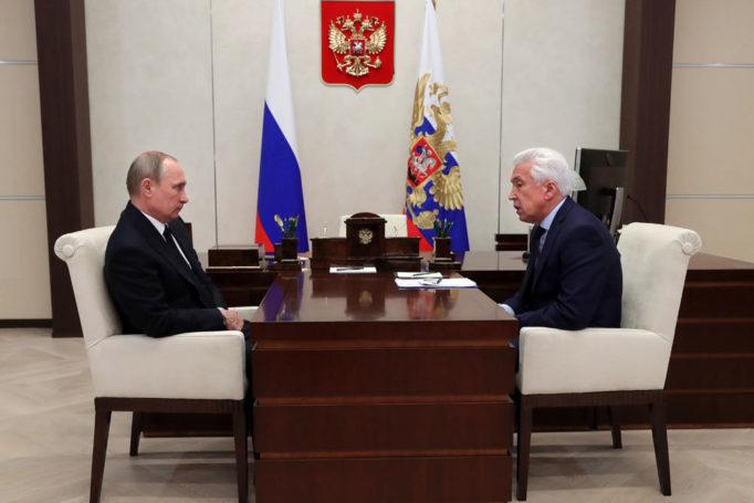 О результатах работы «ЕР» в Госдуме президенту рассказал глава фракции Васильев