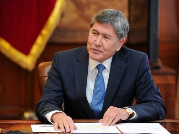Алмазбек Атамбаев рассказал о проекте «Кыргызтест»