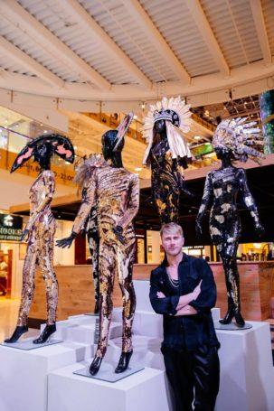Открытие инсталляции «Триумф осени» Константина Гайдая в АВИАПАРКЕ
