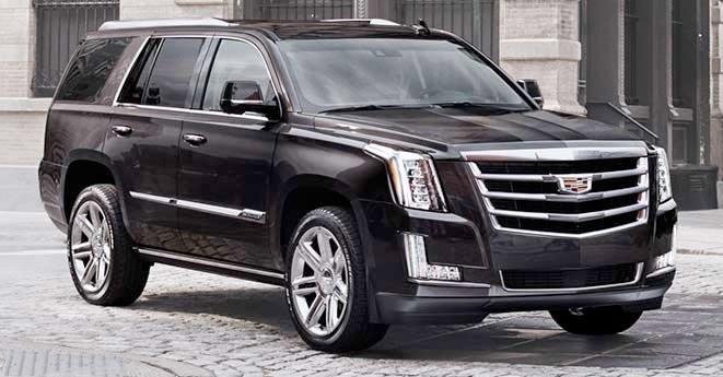 Внедорожник Cadillac Escalade представлен в дилерском салоне «Автоцентр Сити»