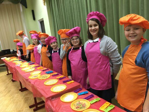 В Москве проходят кулинарные мастер-классы для особых детей