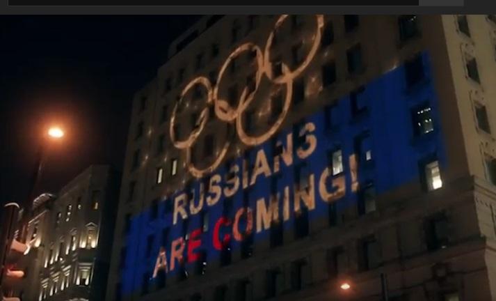Российских олимпийцев креативно поддержали болельщики в Монреале