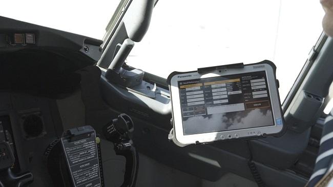 Panasonic внедрил систему электронной документации EFB на самолетах «Аэрофлота»