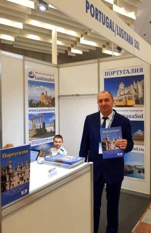 Туроператор «Лузитана Сол» представила свои продукты на выставке в Минске