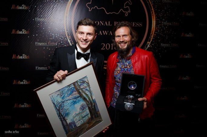 На аукционе в рамках бизнес-премии 2018 Melon Rich&Finance Times собрали более миллиона рублей для Благотворительного фонда Дмитрия Нагиева