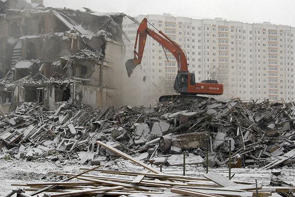 Андрей Бочкарев: строительный мусор от реновации останется в Московском регионе
