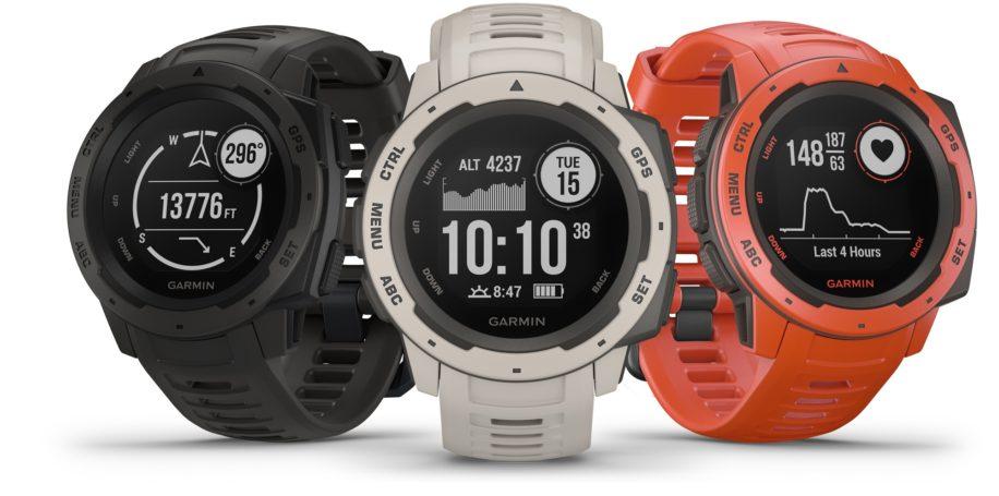 Спортивные GPS-часы Instinct представляет бренд Garmin